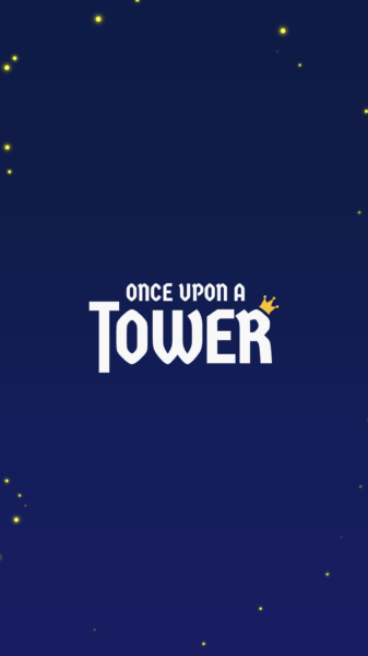 once upon a towerタイトル画面